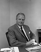 Presentation at Gypsum Industries. Gerry Creadon, Managing Director.<br /> 30.08.1968