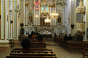 Catholic mass in the Cathedral, Sucre, Bolivia