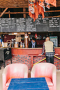 Lounge and bar at La Vie Eco Resort, Thac Ba Lake