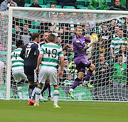 Dundee goalkeeper Scott Bain holds a cross - Celtic v Dundee - Ladbrokes Premiership at Celtic Park<br /> <br /> <br />  - © David Young - www.davidyoungphoto.co.uk - email: davidyoungphoto@gmail.com