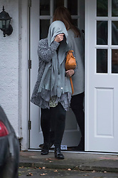 © Licensed to London News Pictures. 04/11/2017. London, UK. Unidentified women are seen leaving a house in  Wimbledon where a seven year old girl was found seriously injured on Friday who has since died. Robert Peters appeared at Wimbledon Magistrates' Court on Saturday and was charged with attempted murder.  Photo credit: Peter Macdiarmid/LNP