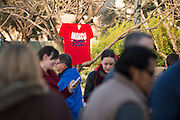Supporters line up to see Senator Marco Rubio speak during a campaign rally on February 26, 2016 in Dallas, Texas.  (Cooper Neill for The New York Times)