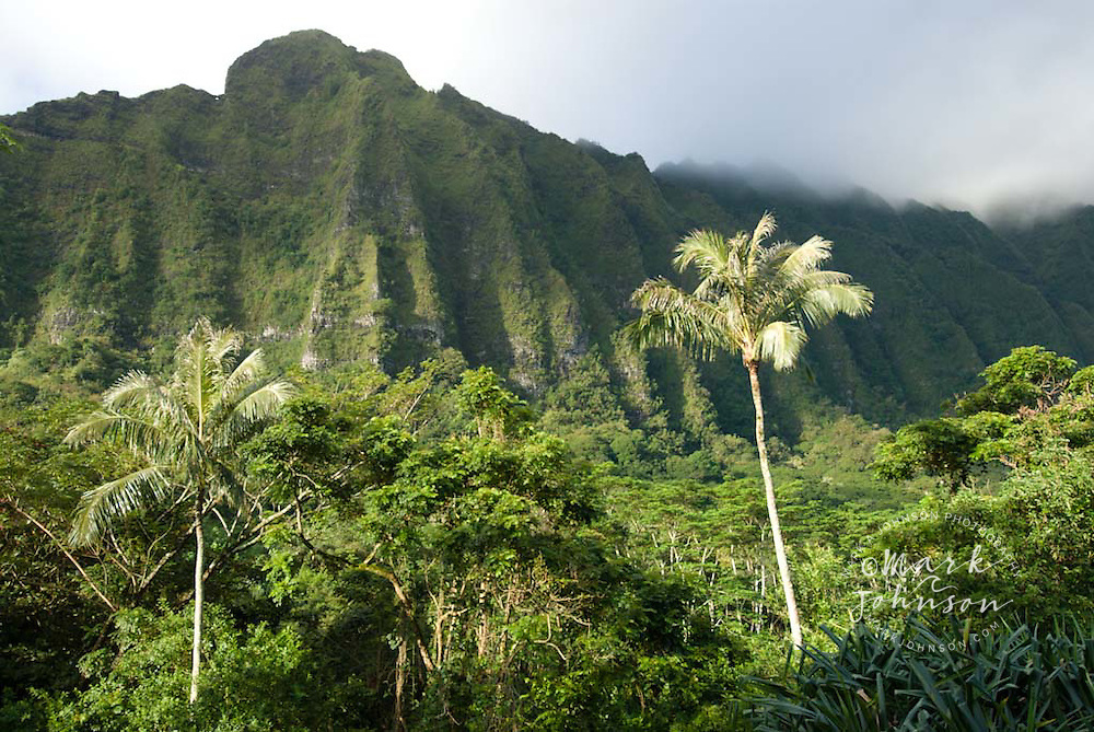 Koolau Mountains, Oahu, Hawaii