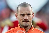 ROTTERDAM, Nederland - Luxemburg, Voetbal, Interland, Oranje, Kwalificatie WK 2018, 09-06-2017, Stadion de Kuip, record international Wesley Sneijder