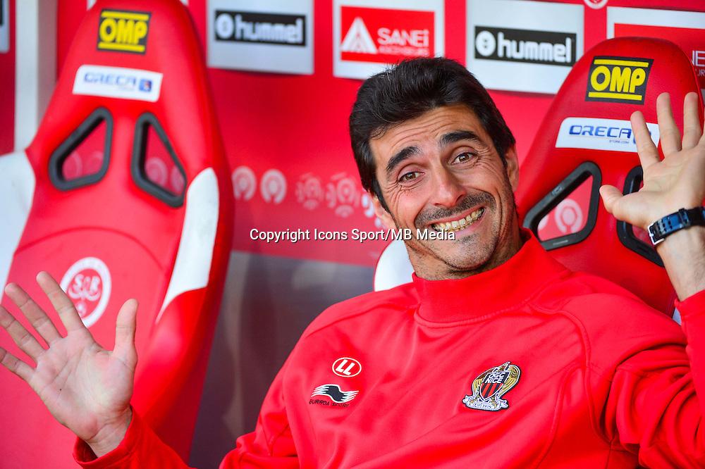 Lionel LETIZI  - 12.04.2015 - Reims / Nice - 32eme journee de Ligue 1 <br />Photo : Dave Winter / Icon Sport