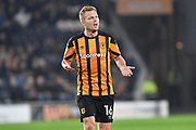 Hull City midfielder Sebastian Larsson (16) during the EFL Sky Bet Championship match between Hull City and Preston North End at the KCOM Stadium, Kingston upon Hull, England on 26 September 2017. Photo by Ian Lyall.