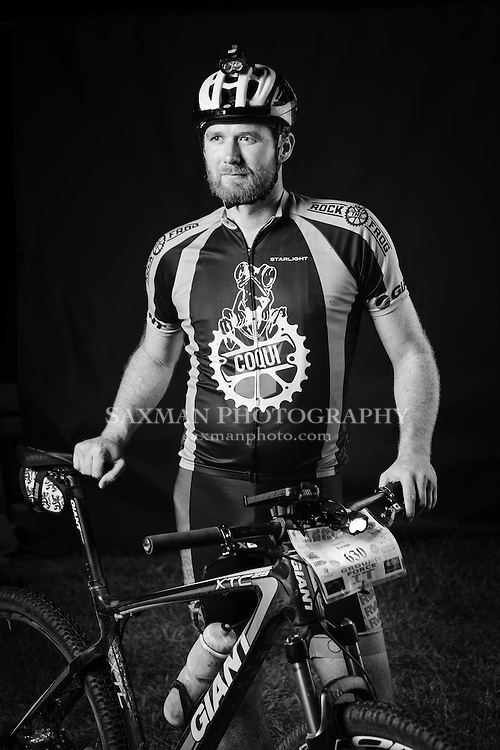 Portraits of riders of the 2014 18 hour Scout Camp race