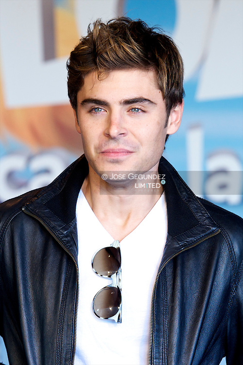 US Actor Zac Efron Attends a Meeting with Fans at El Corte Ingles in Madrid