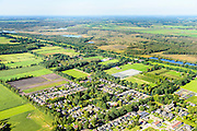 Nederland, Noord-Brabant, Gemeente Deurne, 23-08-2016; Helenaveen, dorp in het hoogveengebied van de Peel, grens met Deurnsche Peel.<br /> Helenaveen,  village in the region of Peel, former peat bog.<br /> aerial photo (additional fee required); <br /> luchtfoto (toeslag op standard tarieven);<br /> copyright foto/photo Siebe Swart