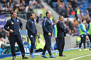 Preston North End manager Simon Grayson during the EFL Sky Bet Championship match between Brighton and Hove Albion and Preston North End at the American Express Community Stadium, Brighton and Hove, England on 15 October 2016.