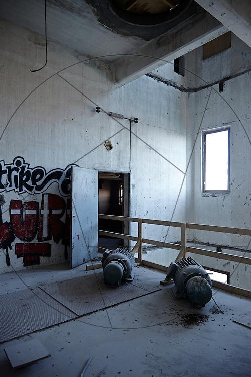 DLG-siloen Nordhavn, Unionkul, ombygning af kornsilo til luksuslejligheder, Klaus Kastbjerg, , By & Havns udstillingslokaler under renovering,