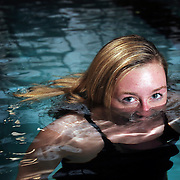 Amber Boucher, a state champion for McNary, is the Statesman Journal's All-Region girls' swimmer of the year. (Thomas Patterson / Statesman Journal)
