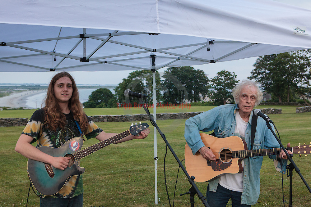 NewportFILM's screening of Meru on St. George's School lawn, Newport, Rhode Island, USA, July9,2015.  Photo: Tripp Burman
