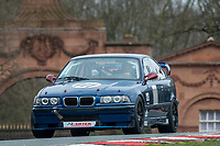 #111 Martin WEBB/Tom WEBB BMW E36 M3  during Cartek Club Enduro Championship as part of the 750 Motor Club at Oulton Park, Little Budworth, Cheshire, United Kingdom. April 14 2018. World Copyright Peter Taylor/PSP.