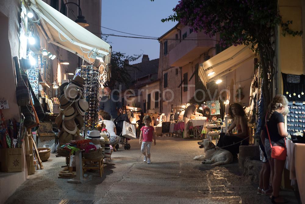 Capoliveri, typical summer evening
