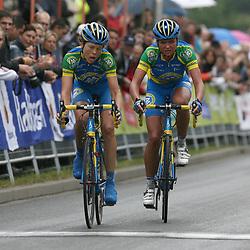 Sportfoto archief 2011<br /> Irene van den Broek en Chantal Blaak pakken zilver en brons