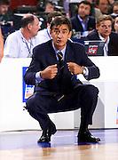 Francia 01/07/1999<br /> Campionati Europei di Basket Francia 1999<br /> Italia-Russia<br /> Boscia Tanjevic
