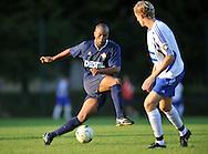 07-08-2008 Voetbal:BSV Sebnitz 68:Willem II: Sebnitz<br /> Oefenwedstrijd Willem II in Sebnitz<br /> Ibad Muhamdu passeert met een fraaie beweging de aanvoerder van Sebnitz<br /> Foto: Geert van Erven