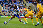 Reading Forward Danny Williams (23) during the Sky Bet Championship match between Reading and Preston North End at the Madejski Stadium, Reading, England on 30 April 2016. Photo by Jon Bromley.