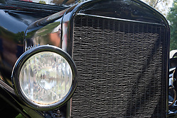 7 August 2010: 1924 Ford Model T, 4 door 4 cylinder. Antique Car show, David Davis Mansion, Bloomington Illinois