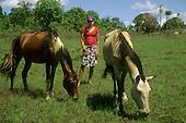 Rural Brazil: Brazilian Highlands: farming; Amazon: caboclo, canoe; coast, fishermen - South America