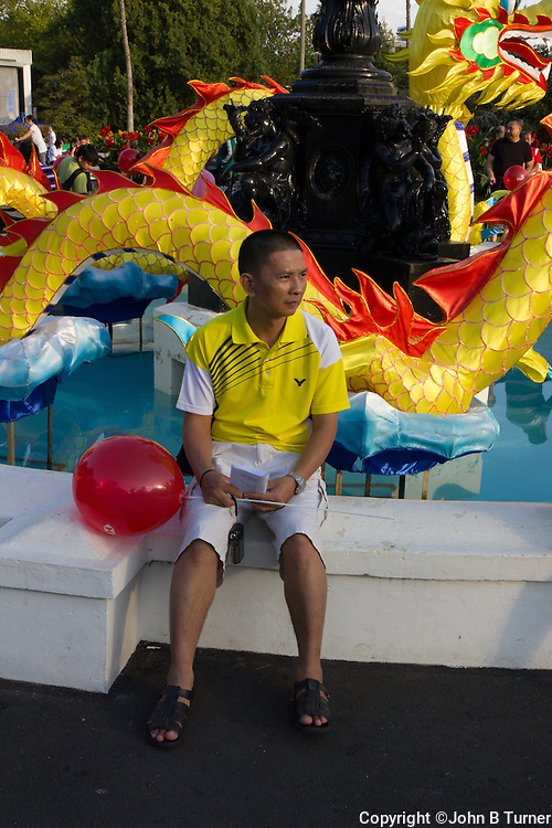 photographs of Lantern Festival, Albert Park, Auckland, New Zealand