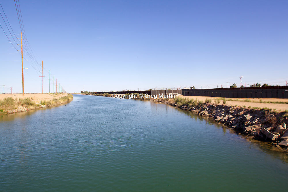 "Called ""The most dangerous body of water in the US"" the All-American Canal runs parrell the US-Mexican Border."