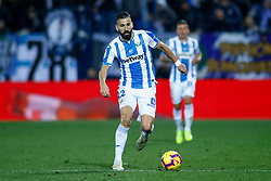 November 23, 2018 - Leganes, MADRID, SPAIN - Siovas of Leganes during the Spanish Championship La Liga football match between CD Leganes and Deportivo Alaves on November 23th, 2018 at Estadio de Butarque in Leganes, Madrid, Spain. (Credit Image: © AFP7 via ZUMA Wire)