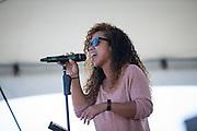 Live music during Santa Clara County Park's Day on the Bay event at Don Edwards San Francisco Bay National Wildlife Refuge in Alviso, California, on October 9, 2016. (Stan Olszewski/SOSKIphoto)