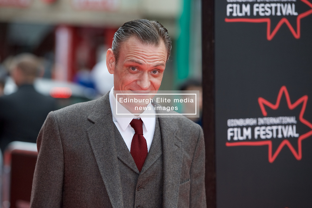 Niall Fulton, on the red carpet at Edinburgh International Film Festival Opening Night Gala opens with the UK  Premier of God's Own Country directed by Francis Lee at Edinburgh's Festival Theatre. Wednesday 21st June 2017(c) Brian Anderson   Edinburgh Elite media