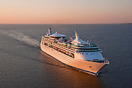 Royal Caribbean Enchantment of the Seas in Baltimore Aerial Photography