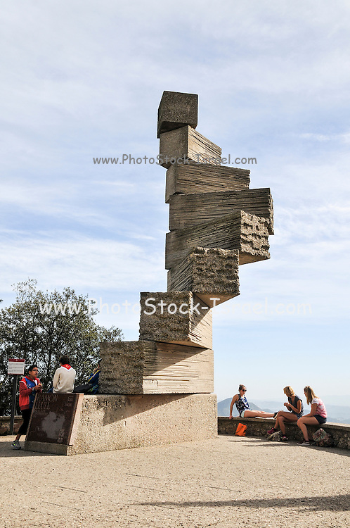L'Escala de l'Enteniment (The Scale of Understanding) by Ramon Llull at Montserrat Abbey, Catalonia, Spain