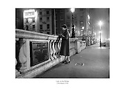 Young lady on O'Connell Bridge, Dublin.<br />