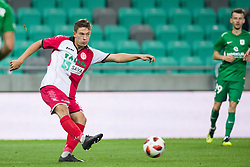 Erik Gliha during football match between NK Olimpija Ljubljana and Aluminij in Round #9 of Prva liga Telekom Slovenije 2018/19, on September 23, 2018 in Stozice Stadium, Ljubljana, Slovenia. Photo by Morgan Kristan