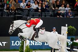 VANDERVEEN Kristen (USA), Faustino de Tili<br /> Paris - FEI World Cup Finals 2018<br /> Longines FEI World Cup Jumping Final III<br /> www.sportfotos-lafrentz.de/Stefan Lafrentz<br /> 15. April 2018