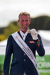 Frank Hosmar, (NED) - Freestyle Test Grade IV Para Dressage - Alltech FEI World Equestrian Games™ 2014 - Normandy, France.<br /> © Hippo Foto Team - Leanjo de Koster<br /> 29/08/14