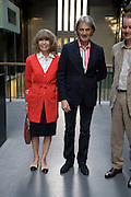 SIR PAUL AND LADY SMITH;  HBOX opening Hosted by Tate Modern and Hermes.  Turbine Hall. London. 3 July 2008.  *** Local Caption *** -DO NOT ARCHIVE-© Copyright Photograph by Dafydd Jones. 248 Clapham Rd. London SW9 0PZ. Tel 0207 820 0771. www.dafjones.com.
