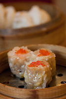 steamed dim sum in shanghai restaurant china