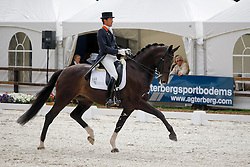 Visser Tommie (NED) - Santo Domingo<br /> KNHS Kampioenschap Lichte Tour<br /> Nederlands Kampioenschap Dressuur - De Steeg 2009<br /> Photo © Dirk Caremans