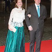 NLD/Rotterdam/20140201 - Beatrix met hart en ziel, Prins Carlos en prinses Annemarie