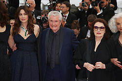 Claude Lelouch, Anouk Aimee, Monica Bellucci attending the Les Plus Belles Annees d'une vie Premiere as part of the 72nd Cannes Film Festival, on May 18, 2019 in Cannes, France. Photo by Jerome Domine/ABACAPRESS.COM