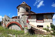 Castillo Las Nubes, Soroa, Artemisa, Cuba.