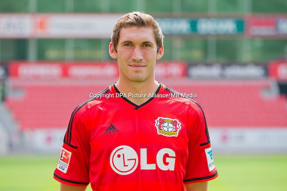 German Soccer Bundesliga - Photocall Bayer 04 Leverkusen on August 4th 2014: Stefan Reinartz.