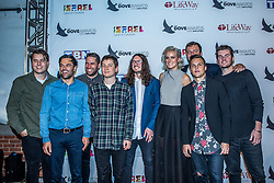 October 11, 2016 - Nashville, Tennessee, USA - Hillsong UNITED at the 47th Annual GMA Dove Awards  in Nashville, TN at Allen Arena on the campus of Lipscomb University.  The GMA Dove Awards is an awards show produced by the Gospel Music Association. (Credit Image: © Jason Walle via ZUMA Wire)