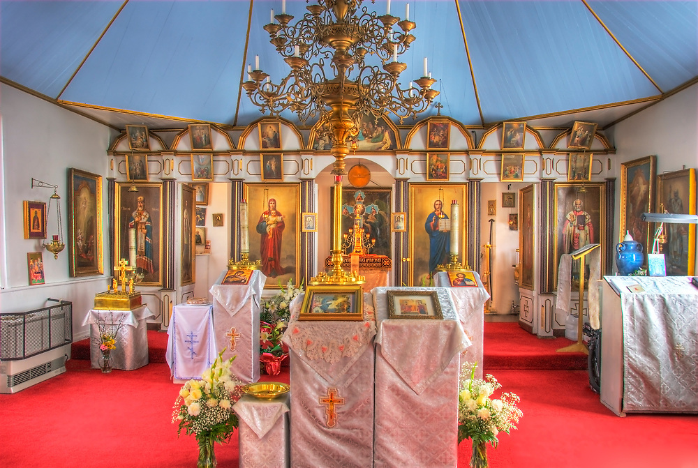 Russian Orthodox Church is a visitors priority when visiting Kenai Alaska. A top tourist site. Built in the late 1800's.
