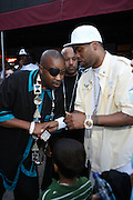 l to r: Slick Rick and Redman at The Rock the Bells International Festival Series powered by SandDisk held at Jones Beach on August 3, 2008..Few events can claim to both capture and define a movement, yet this is precisely what Rock The Bells has done since its inception in 2003. Rock The Bells is more than a music festival. It has become a genuine rite of passage for thousands of core, social, conscious, and independent Hip Hop enthusiasts, backpackers, and heads. Following in the colorful tradition and history of past Hip Hop music festivals such as Smoking Grooves and Cypress Hill?s Smoke Out, Rock The Bells is the ultimate Hip Hop platform and premiere music experience in America. Rock The Bells has established a forum of unparalleled diversity and excellence by uniting the biggest names involved with urban culture.