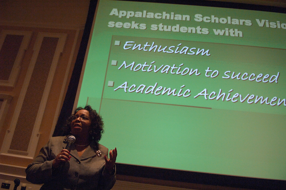 Appalachian Scholars Open House Program in New Baker...Dr. Christine Taylor