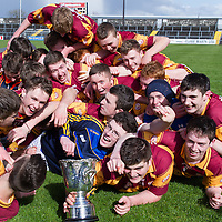 Tulla celebrate their win of the Clare U21B Hurling County FInal