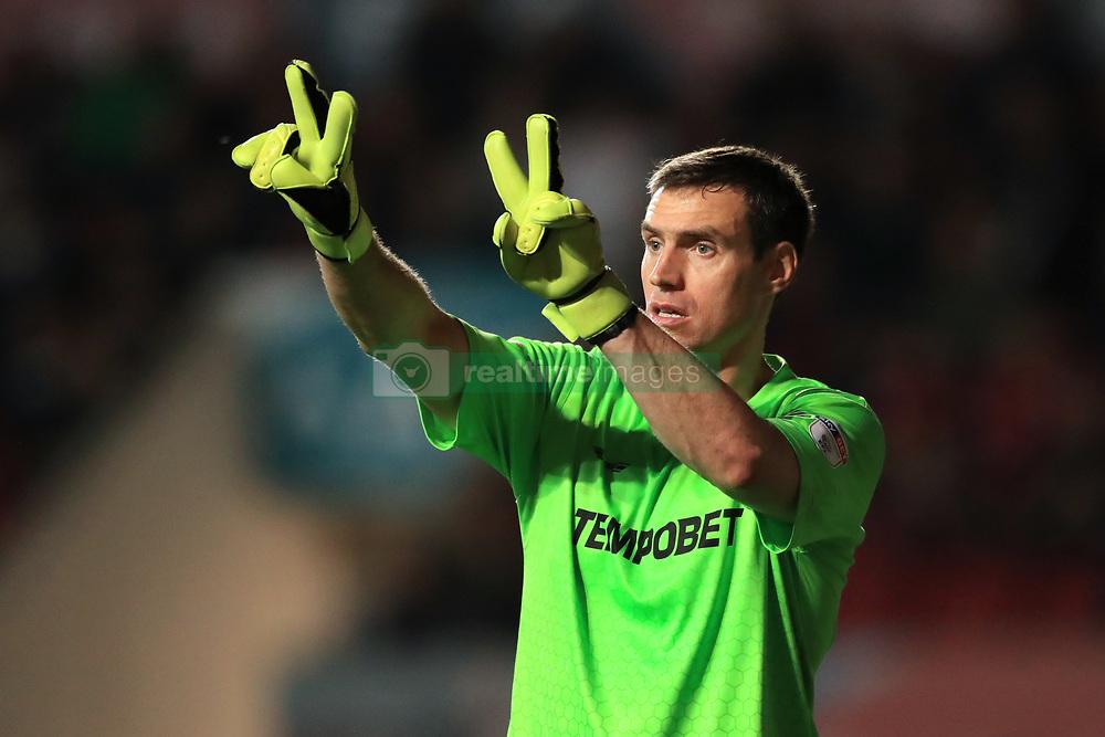 Burton Albion goalkeeper Stephen Bywater