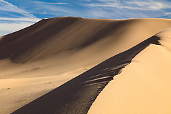"""Ibex Dunes 1"" - Abstract photograph of Ibex Sand Dunes in Death Valley, California."
